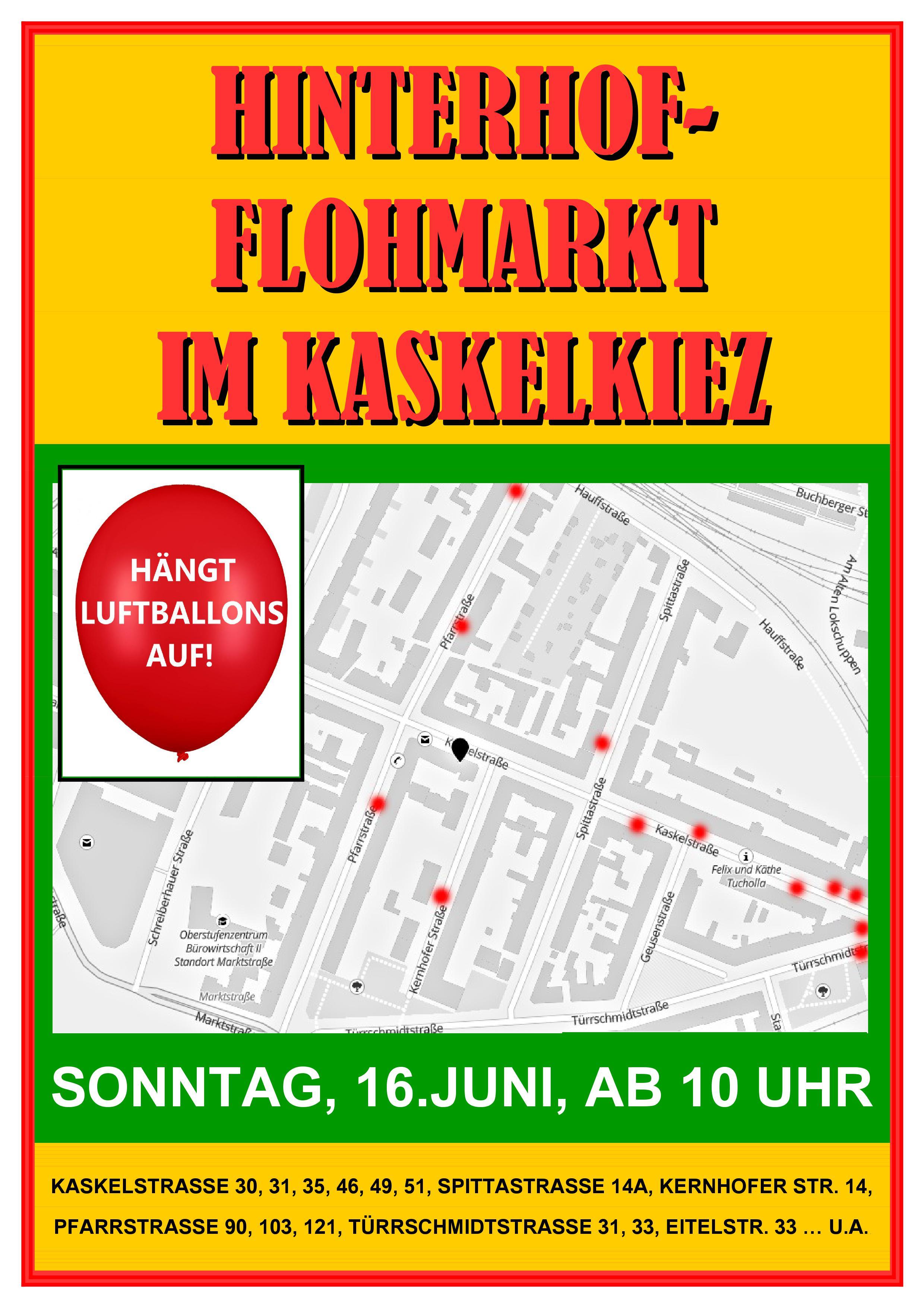 Hinterhofflohmarkt 2 Jelanger Jelieber